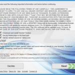 free software installer used in browser hijacker distribution sample 4