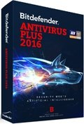 Bitdefender Antivirus Plus 2016 box