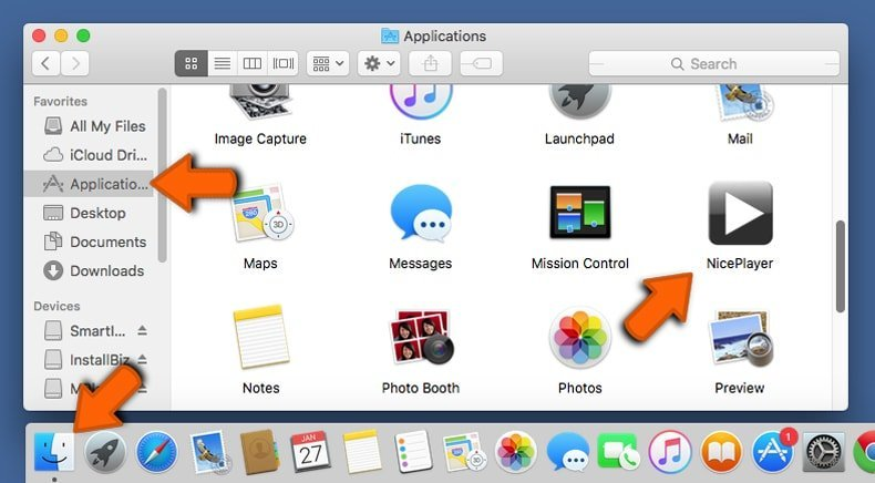 mac browser hijacker removal from applications folder