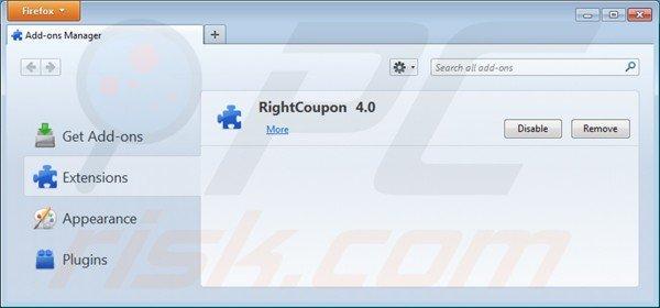 King coupon virus entfernen