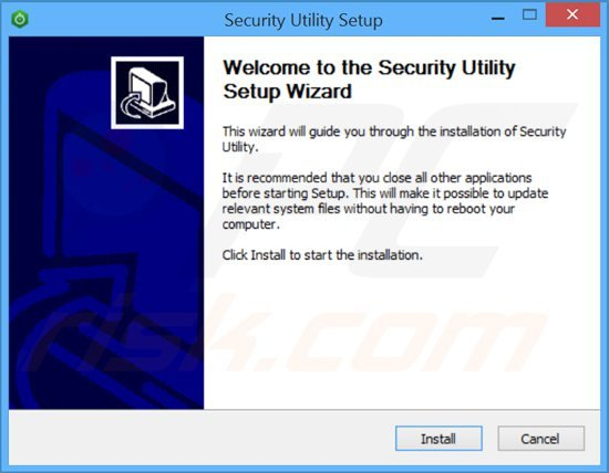 security utility adware installer setup