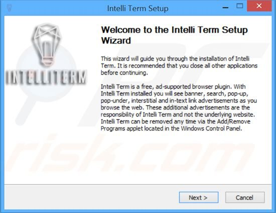 IntelliTerm Adware Installer