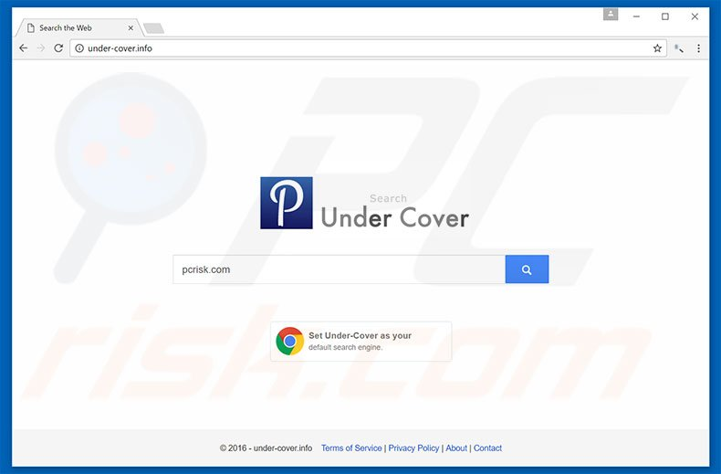 under-cover.info browser hijacker