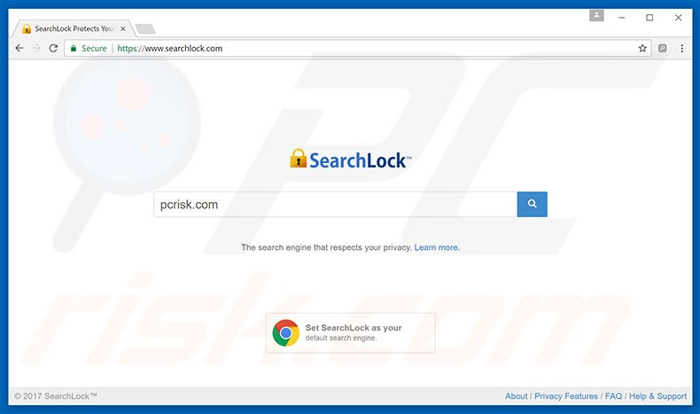 searchlock.com browser hijacker