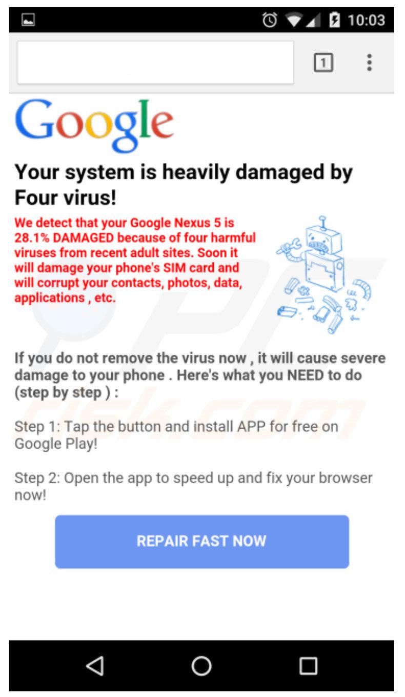 Virus Sim Karte