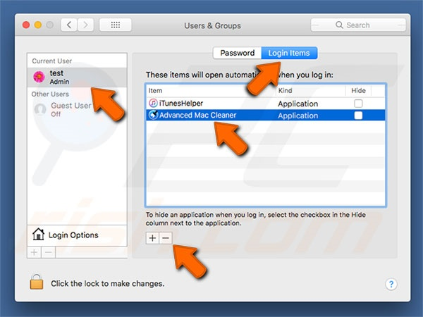 Mac Adware Cleaner PUP system preferences