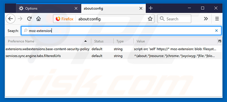 Removing smartpackagetracker.com from Mozilla Firefox default search engine