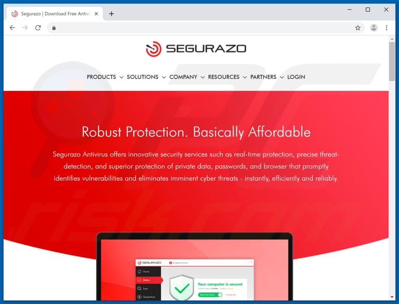 segurazo download website