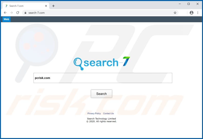 search-7.com browser hijacker